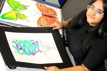 Graphic Design student Gurpreet Bhopal