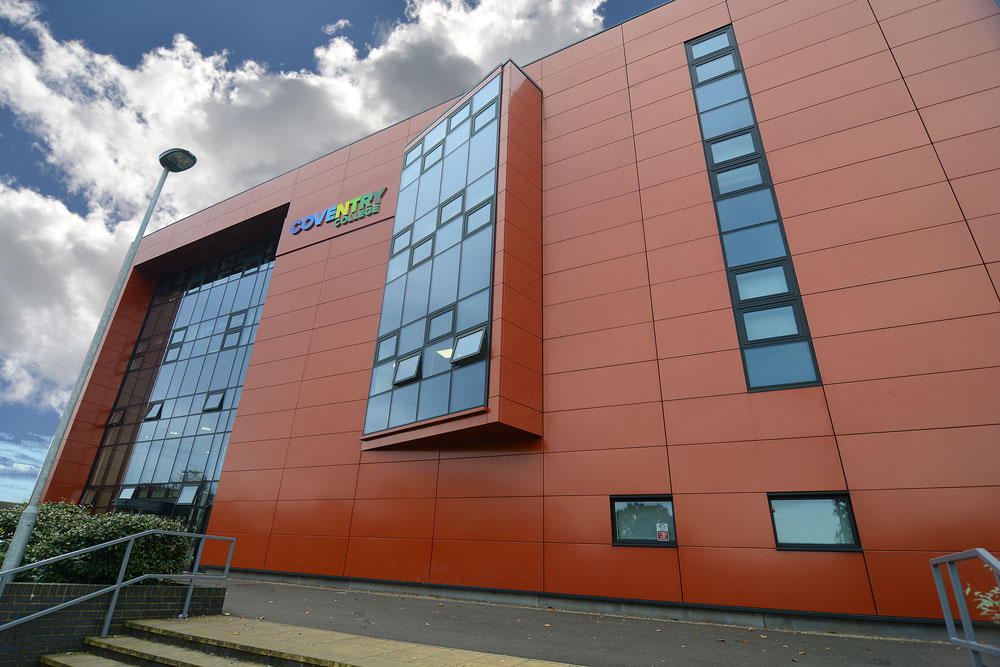 Coventry College Henley building exterior