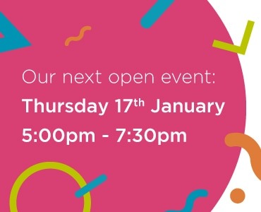 January 2019 open event