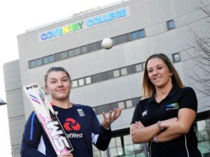 Coventry cricketer called up to the England Women's Cricket training squad