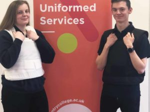 Coventry College Receives Donation from SafeGuard Clothing