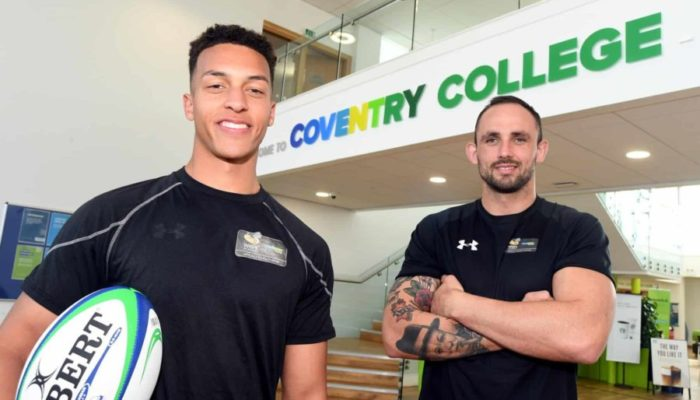 Coventry College rugby player set for chance to represent England