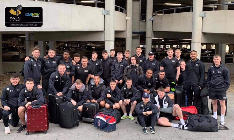 Rugby Academy jet off to Portugal for youth rugby tournament