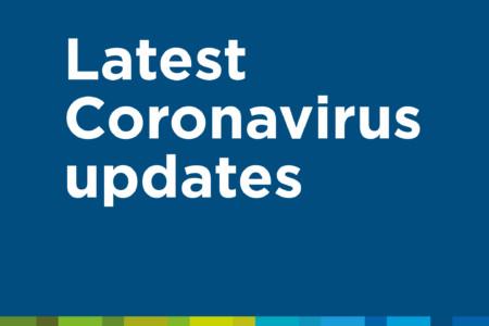 Latest Coronavirus updates