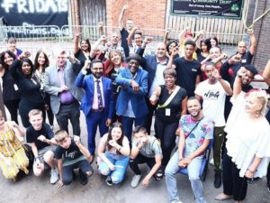 Amazing initiative by former student intent on reversing gun and knife crime