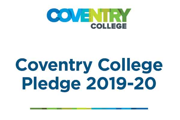 Coventry College Pledge 2019/2020