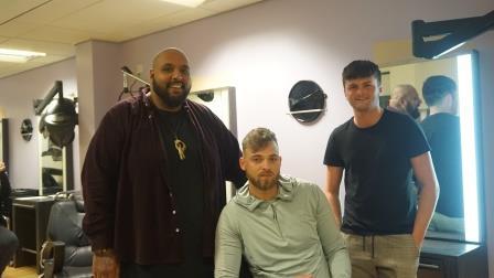 Former Coventry College Barbering learner Baldesh