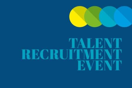 Talent Recruitment Event, 3rd March 2020, 4 till 6 PM
