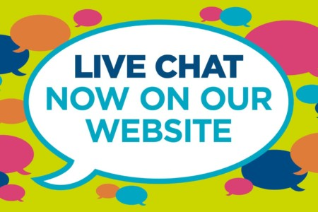 Live chat now available on our website