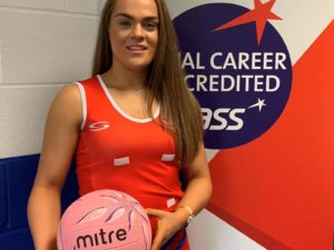 Netball challenge for college student Demi