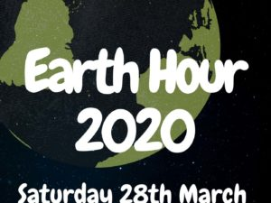 Take part in Earth Hour 2020