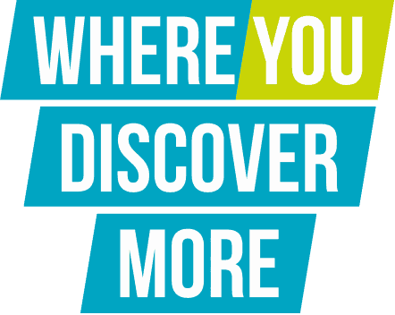 Where you discover more