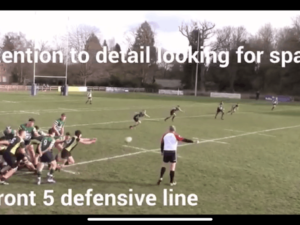 Online classes for our Rugby Academy