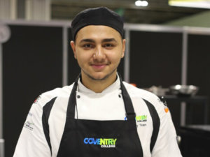 Coventry learner cooks up a recipe for success