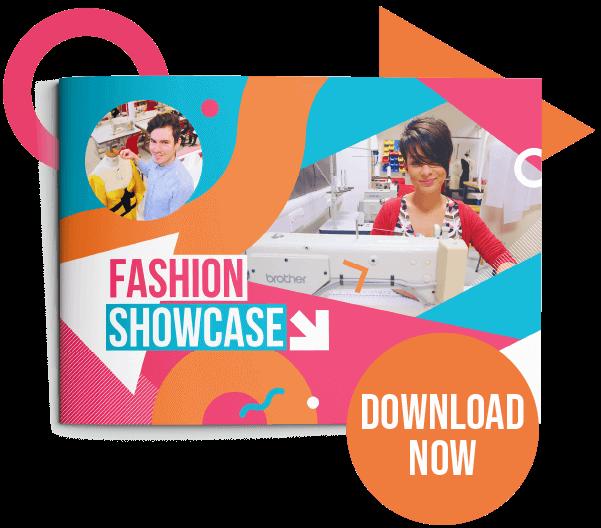 Button to view Fashion showcase PDF