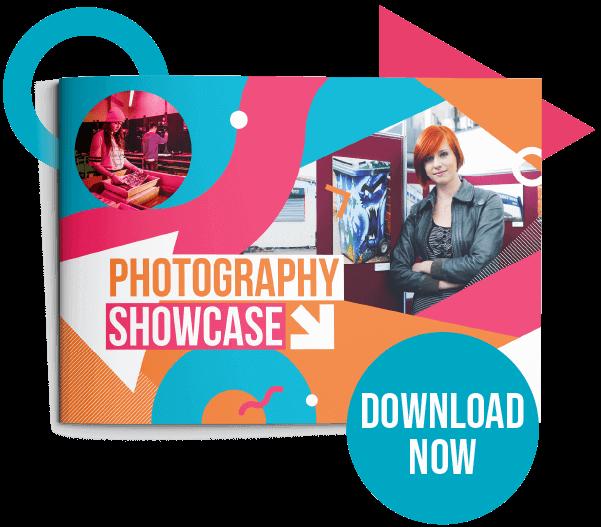 Button to view Photography showcase PDF