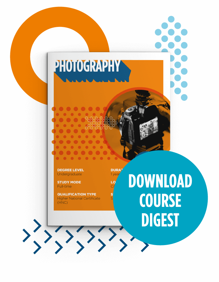 Button to download course digest for HND Photography