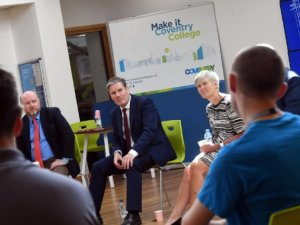 Labour Party Leader Visit to the College