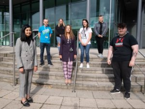Coventry South MP Zarah Sultana visits Coventry College