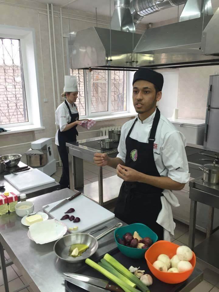 Burhan Ahmed, former Coventry College Catering learner