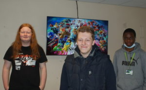 A group of the College's Games Design students known as the Coventry Crimson